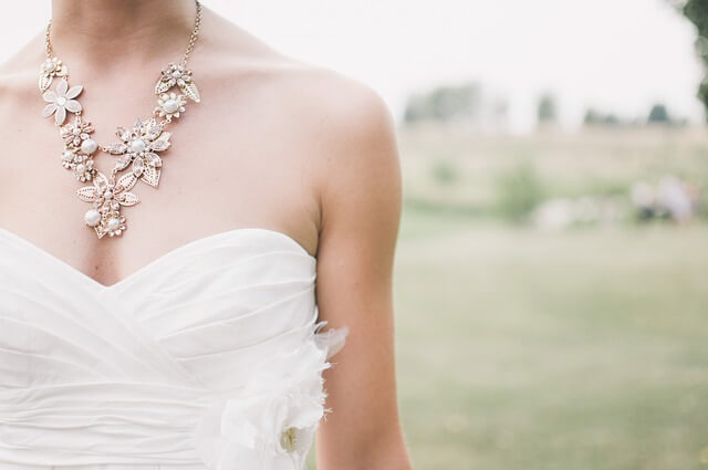 Bridal Precious Jewelry and The Gown