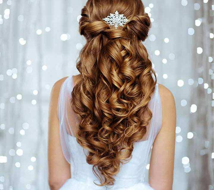 The perfect wedding celebration hairstyle for this summer