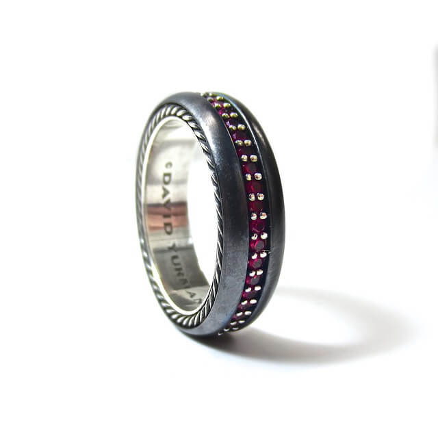 Titanium Wedding Event Rings: Swing Of The Future?