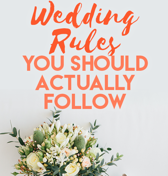 Wedding Celebration Etiquette for Bride-to-bes